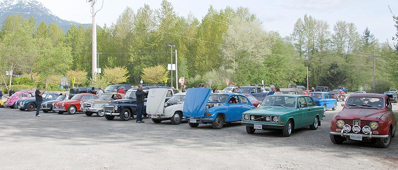 65 Rally cars gathering
