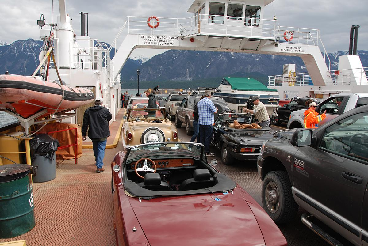 1st ferry crossing of 200 mile long Arrow Lake