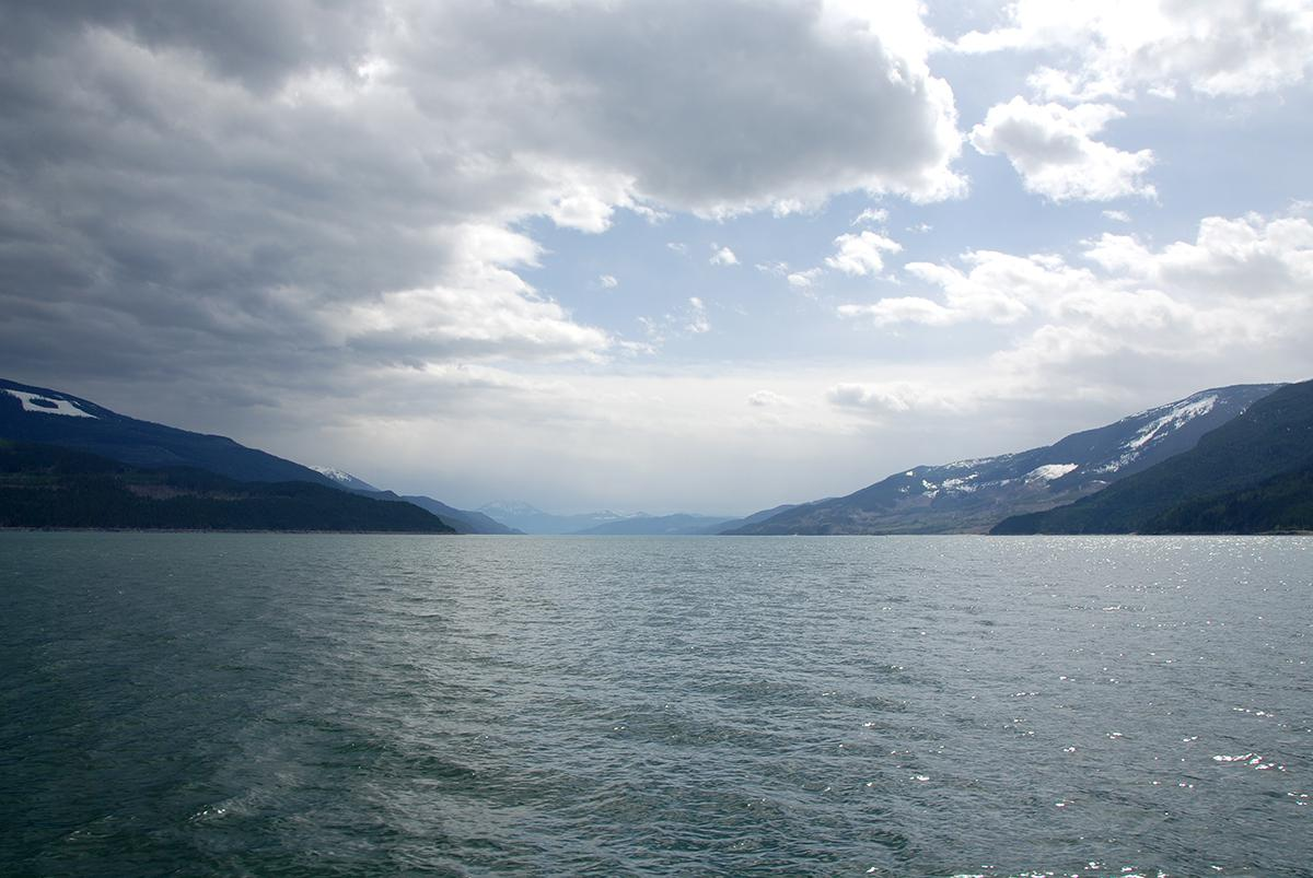 Arrow Lake from the ferry